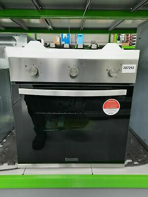 £270 • Buy Baumatic BGPK600X Built In Electric Single Oven And Gas Hob Pack  #287292