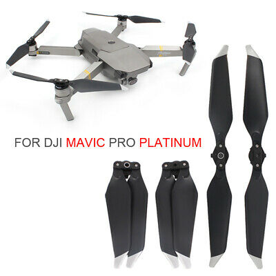 AU6.99 • Buy New 2 Pairs Low-Noise Quick-Release 8331F Propellers For DJI Mavic PRO Platinum