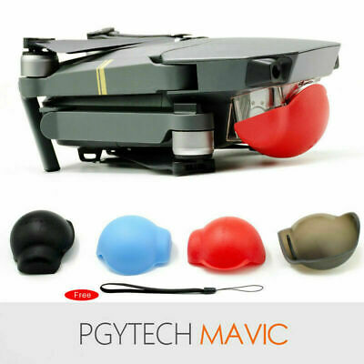 AU5.99 • Buy Silicone Protective Case For DJI MAVIC PRO Drone Gimbal Lens Cover With Belt