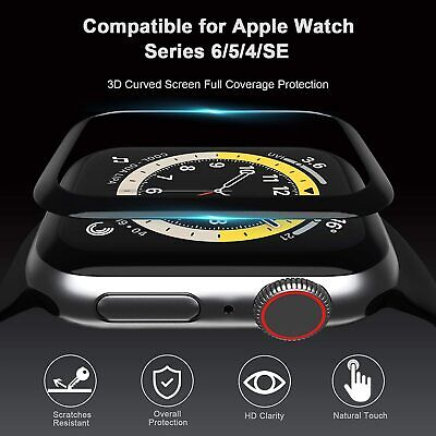 AU5.95 • Buy Apple Watch IWatch Series 2 3 4 5 6 SE Glass Screen Protector 38/40/42/44mm