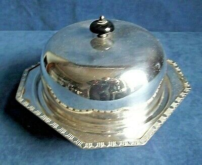 £6.95 • Buy SUPERB 8  ~ SILVER Plated ~ Muffin / SERVING Dish ~ C1925 By Lee & Wigful