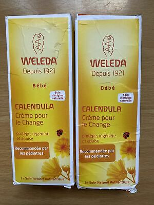 £12.99 • Buy 2 X Weleda Baby Calendula Nappy Change Cream 75ml