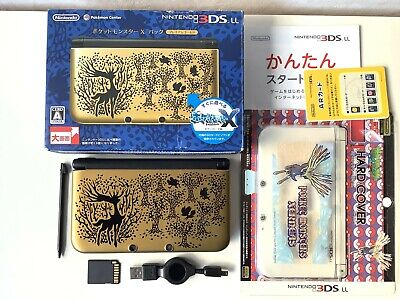 $294 • Buy Nintendo 3DS XL LL Pokemon X Pack Premium Gold Limited Japan Console USED
