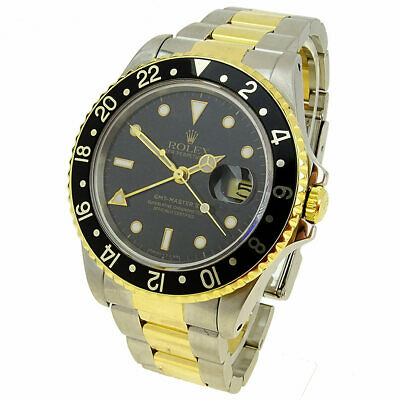$ CDN13764.45 • Buy Rolex Gmt-master Iioyster Perpetual Steel & Gold Automatic Wristwatch 16713