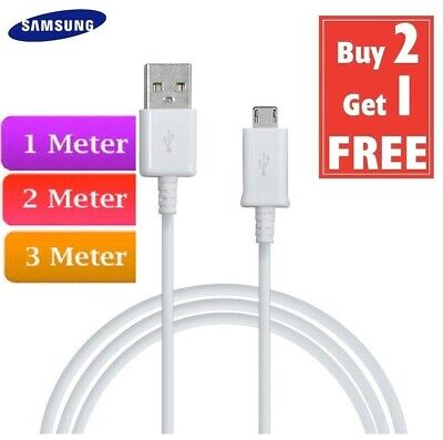 £1.99 • Buy Fast Micro USB Charger Charging Lead Data Sync Cable For Samsung Amazon Phones