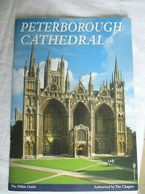 Peterborough Cathedral  Pitkin (2001) Guide Booklet • 2.49£