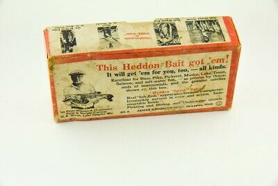 $ CDN26 • Buy Vintage Heddon 210 Surface Minnow Antique Fishing Lure Empty Box RS13