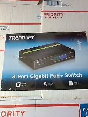 AU64.49 • Buy TrendNet 8 Port Gigabit POE Switch   # TPE-TG80g