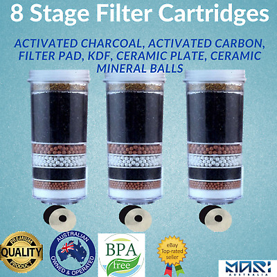 AU65 • Buy Aimex Water Filters Replacement Cartridges Bench Top Water Filter 8 Stage Filter