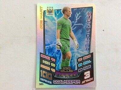 £1.35 • Buy Match Attax 100 Club- Joe Hart