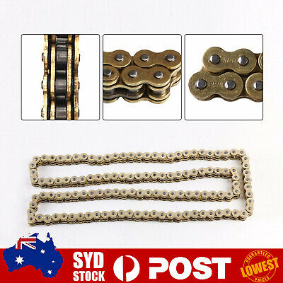 AU42.59 • Buy Heavy Load 520x120 ATV Motorcycle O-Ring Drive Chain 520 Pitch 120 Links Gold