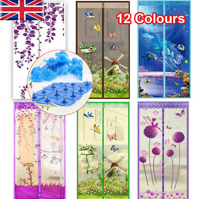 £8.34 • Buy MAGIC Magnetic Insect Door Net Screen Bug Mosquito Fly Insect Mesh Guard Curtain