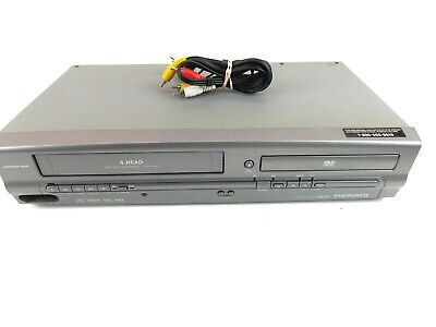 $ CDN84.63 • Buy Magnavox DVD/VHS Combo Player MWD2205 With Cables No Remote TESTED