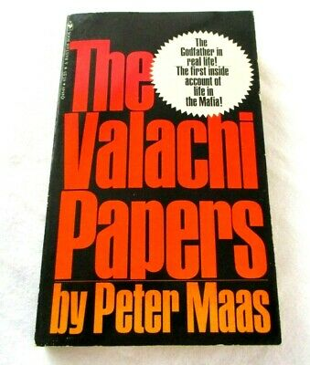 £6.38 • Buy The Valachi Papers By Peter Maas 1969 Mafia Paperback Book