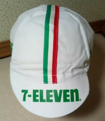 AU51 • Buy Vintage 7-Eleven Bicycle Race Cycling Hat Cap Made In Saint Louis MO USA