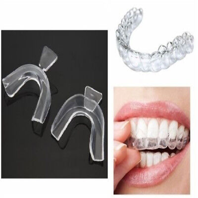 AU4.84 • Buy 4Pcs Thermoform Moldable Mouth Teeth Dental Tray Tooth Whitening Guard Whitener