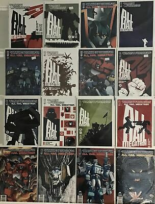 £57.48 • Buy Transformers All Hail Megatron Vf/nm #1 -16 Idw Complete Set Lot