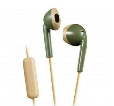 £8.72 • Buy JVC Green Retro Style Stereo Sweatproof Earbuds With Remote And Microphone