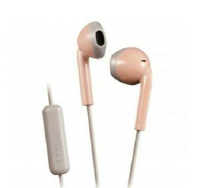 £8.72 • Buy JVC Pink Retro Style Stereo Sweatproof Earbuds With Remote And Microphone
