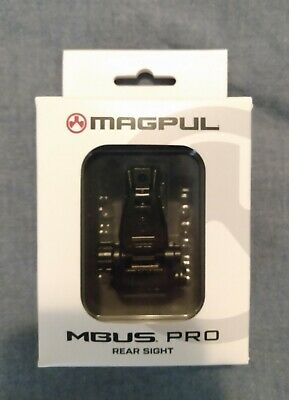 $95 • Buy Magpul MBUS Pro Rear Sight, Melonited All-Steel, New In Box