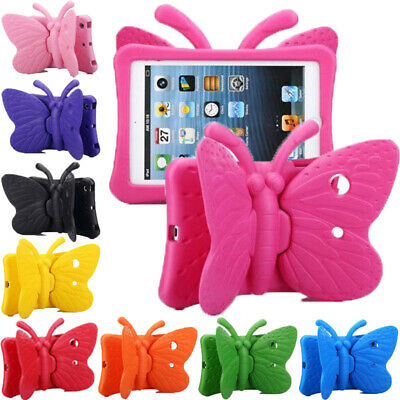AU25.59 • Buy Kids Shockproof Heavy Duty 3D Butterfly Tough Case Cover For IPad 8/7th Pro Mini