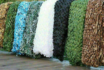 4m*6m Camo Net Hunting/Shooting Camouflage Hide Army Camping Woodland Netting • 11.99£