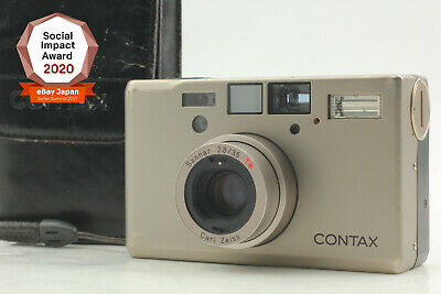 $ CDN2224 • Buy [Exc+5 In Soft Case] Contax T3 Double Teeth Point & Shoot Film Camera JAPAN