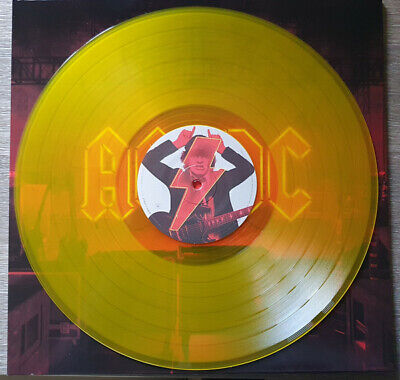 £24.50 • Buy AC/DC Power Up Sealed Gatefold YELLOW COLOURED Vinyl LP With Shot In The Dark
