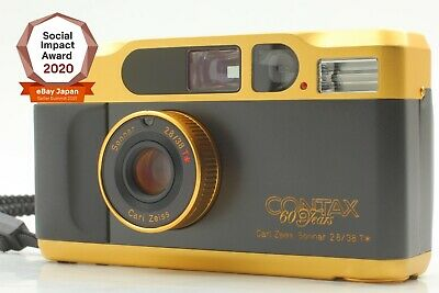 $ CDN1928.90 • Buy [Near Mint] CONTAX T2 60years Gold Point & Shoot 35mm Film Camera From JAPAN