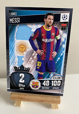 £1.99 • Buy Match Attax101 2020/21 2021 Lionel Messi Base Card FC Barcelona #2