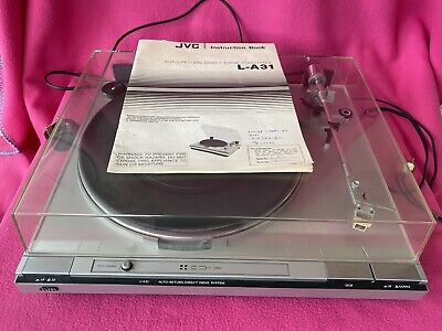 £69.95 • Buy Vintage JVC L-A31 Auto Return Direct Drive Turntable Record Player - VGC & GWO