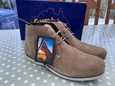 £25 • Buy Gumbies «dock Mate» Sand Suede Boots Size 8 42 New ⚓️🦘