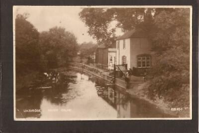 £4.99 • Buy UXBRIDGE-MIDDLESEX.  River Colne And Cottage. 1934. RP.