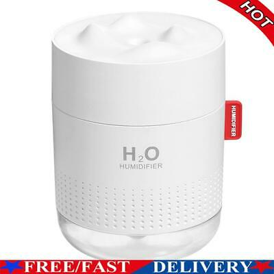 AU19.11 • Buy 500ml 7 Color LED Ultrasonic USB Humidifier Essential Oil Diffuser (White)
