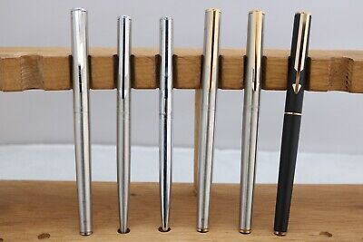 £29.99 • Buy Vintage (c1980) Parker Arrow Fountain/Ballpoint/Rollerball Pens, 10 Finishes