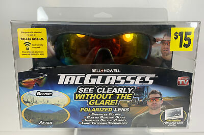 AU12.70 • Buy NEW! Bell And Howell Tac Glasses Sports Polarized Sunglasses Outdoors