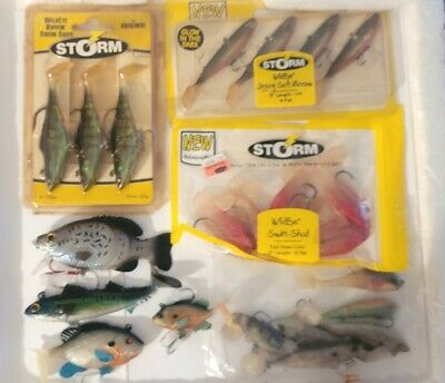 $ CDN3.64 • Buy Lot Of 23 Storm And Other Swimbait Fishing Lures