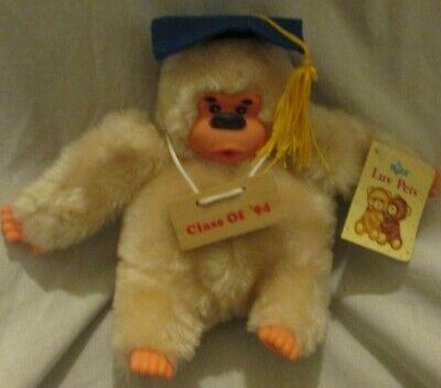 $ CDN7.24 • Buy Vintage Russ Berrie Gonga Ape Graduation Class Of '94 Monkey Thumb Sucking Mint