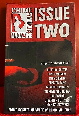 AU9.57 • Buy Crime Syndicate Magazine : Issue Two Noir Detective Stories Book