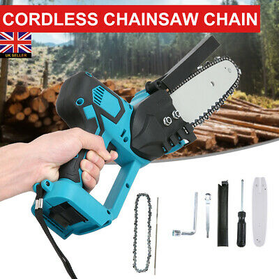 £9.99 • Buy Electric Cordless Chainsaw Garden Chain Saw Cutting Tool For 18V Makita Battery