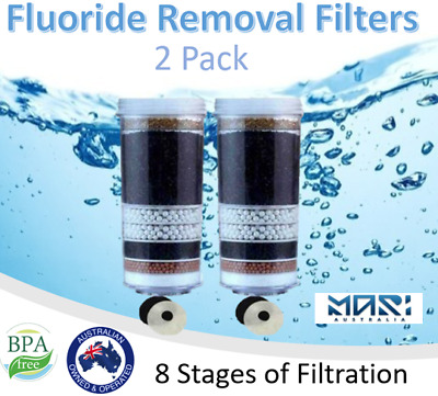 AU60 • Buy 8 Stage Water Filter Fluoride Removal Reduction Control Ceramic Alkaline Water