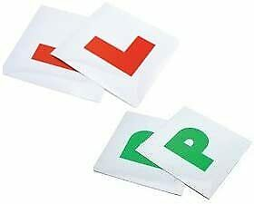 £2.49 • Buy Pack Of 4 New Magnetic Secure Learner Driver L Plates P Plates Exterior Car Bike