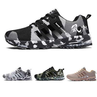 £13.95 • Buy Mens Womens Camouflage Trainers Sport Running Shoes Breathable Outdoor Sneakers