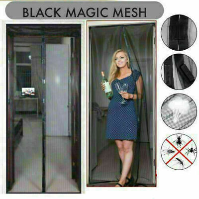 £6.06 • Buy MAGIC Magnetic Curtain Door Net Screen Insect Bug Mosquito Fly Insect Mesh Guard
