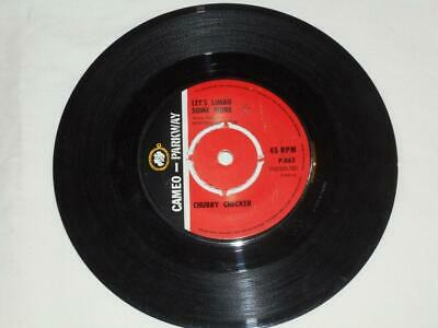 £2.50 • Buy CHUBBY CHECKER - Let's Limbo Some More. - VINYL 45 - Cameo Parkway P862 - 1963