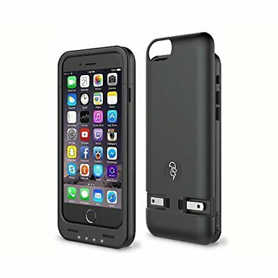 AU36.31 • Buy Squirl IPhone 6/6S Battery Case - Built-in Charger-Case Fully Protects Your C...