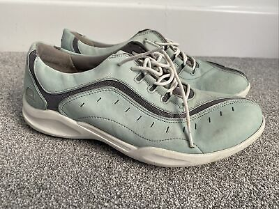 £18 • Buy Clarks Womens Green Wave Atsu Trainers Size 7.5 D