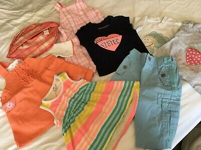 AU3.61 • Buy Baby Girl Clothes 0-3 Months Summer Bundle