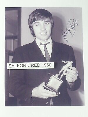£2 • Buy George Best Picture With The Footballer Of The Year 1968