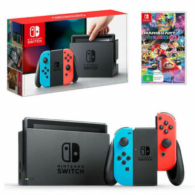 $ CDN318.66 • Buy Nintendo Switch 32GB Neon Blue/Neon Red Console